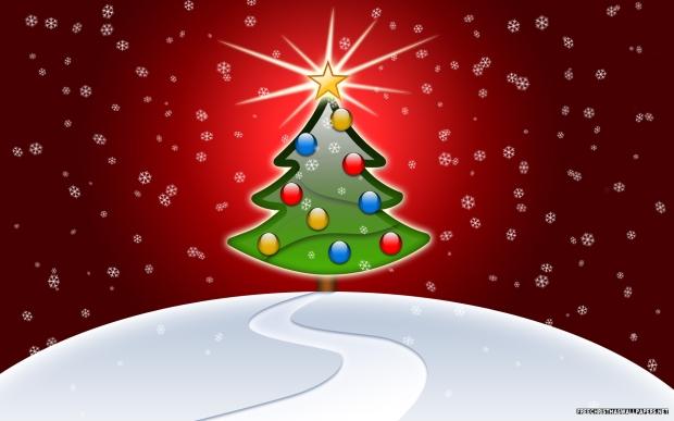 glossy-christmas-tree-widescreen-703825